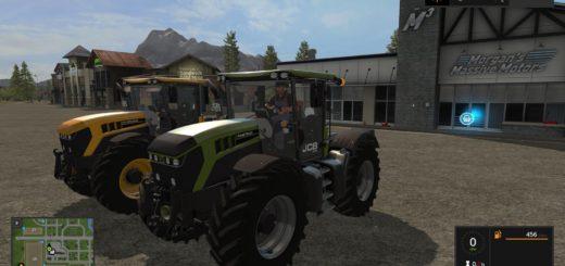 Мод трактор JCB FASTRAC 4220 KG AND VF V1.0 Farming Simulator 17