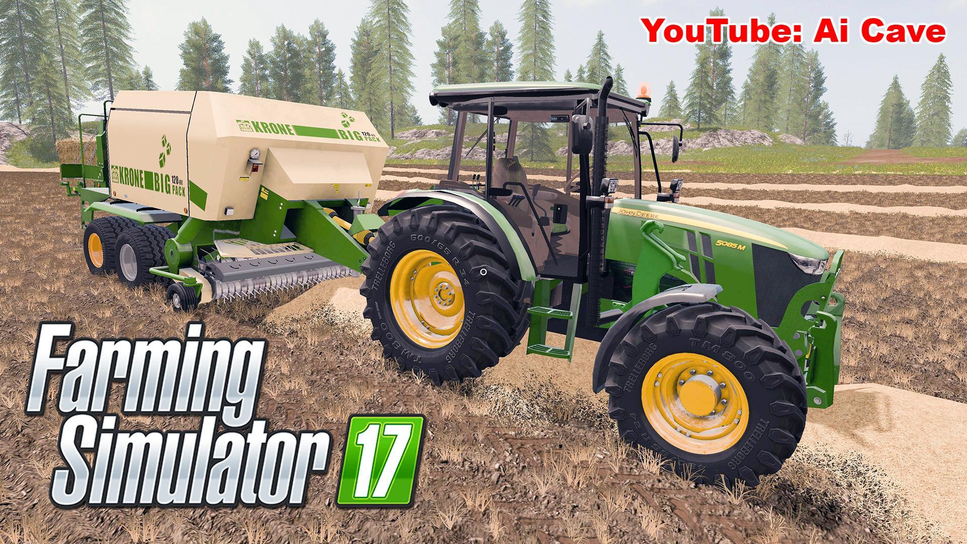 Мод трактор JOHN DEERE 5085M V1.4 FS17