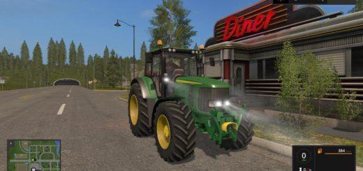 Мод трактор JOHN DEERE 6920S V3.0 FS17