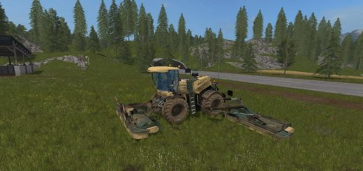 Мод сенокосилка KRONE BIG M500 V3.0 Farming Simulator 17