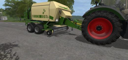 Мод тюкопресс KRONE BIG PACK 120-80 V2.1.0.0 Farming Simulator 17
