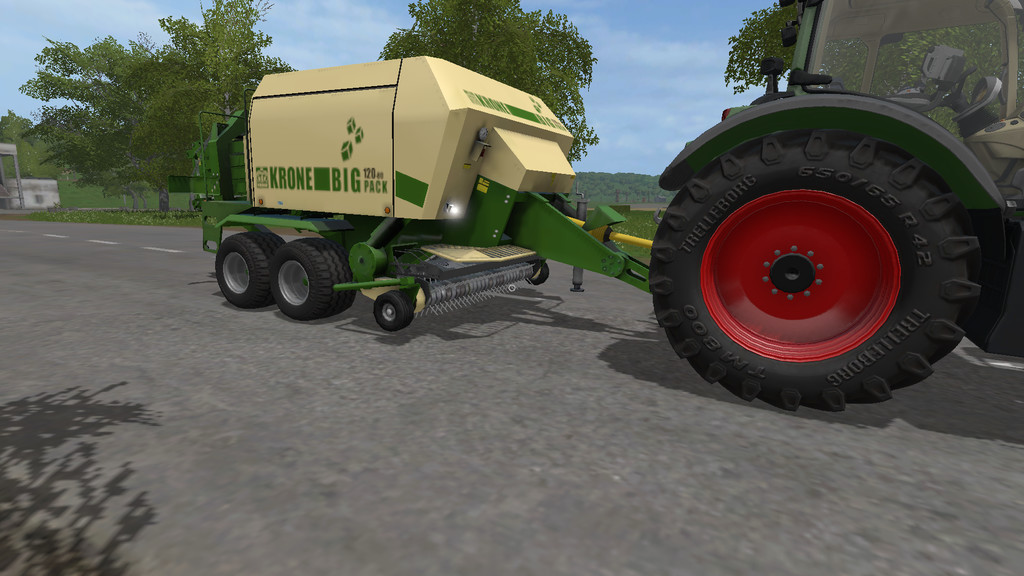 Мод тюкопресс KRONE BIG PACK 120-80 V2.1.0.0 Farming Simulator 17