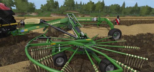 Мод валковая жатка KRONE SWADRO TC930 V1.0.0.0 Farming Simulator 17