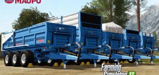 Мод прицеп MAUPU 24T TDM 7632 ORIGINE V1.2 Farming Simulator 17