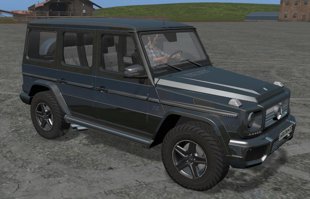 Мод авто MERCEDES-BENZ G65 MULTICOLOR V1.3 Farming Simulator 17