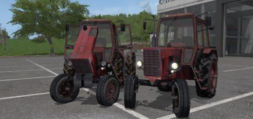 Мод трактор МТЗ - 80 v1.3 Фермер Симулятор 2017