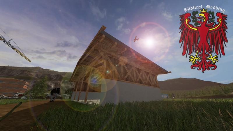Мод навес TYROLEAN STYLE V1.0 Farming Simulator 2017