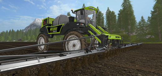 Мод MCLOUDE SPECIAL EQUIPMENT–SLURRY SPRAYER V1.0 Farming Simulator 17