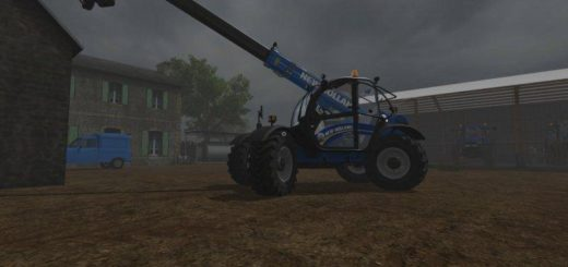 Мод погрузчик NEW HOLLAND LM742 V1.1 Farming Simulator 17