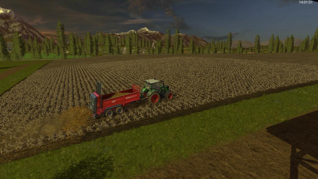 Мод прицеп ORION 120TH V1.2.0.0 Farming Simulator 2017
