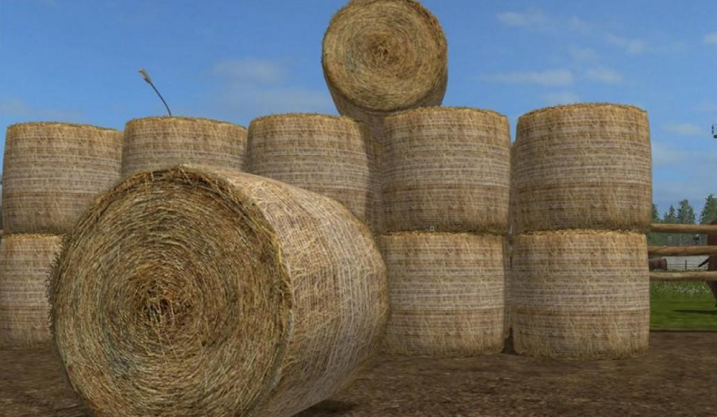 Текстуры PHOTOREALISTIC ROUND BALES V1.0 Farming Simulator 2017