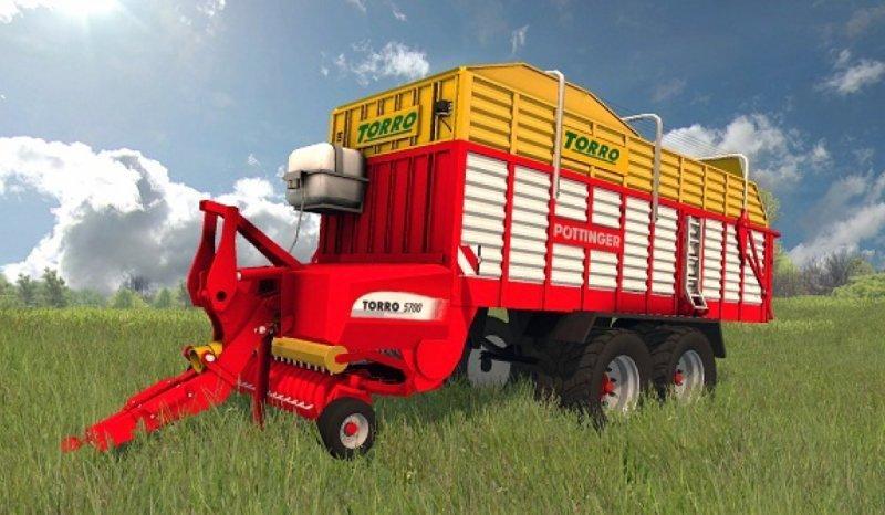 Мод прицеп POETTINGER TORRO 5700 V1.1 Farming Simulator 17