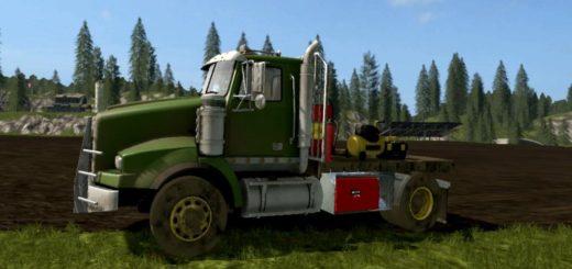 Мод грузовик REPAIR TRUCK FOR SEASONS V1.0 FS17