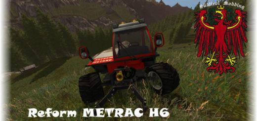 Мод трактор REFORM METRAC H6 V1.3 Farming Simulator 17