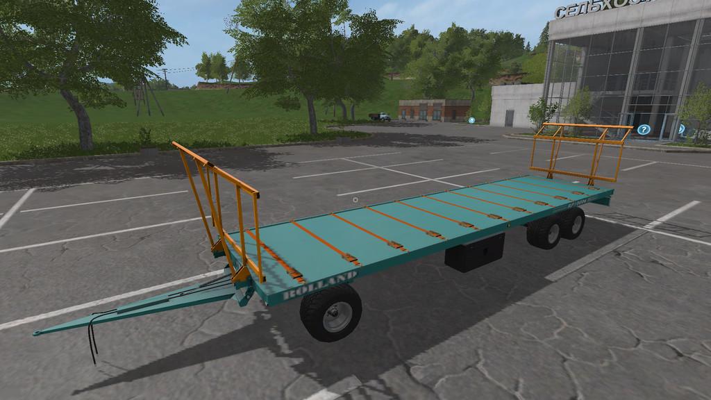 Мод прицеп Rolland RP 10006 CH v1.1.1 Farming Simulator 2017