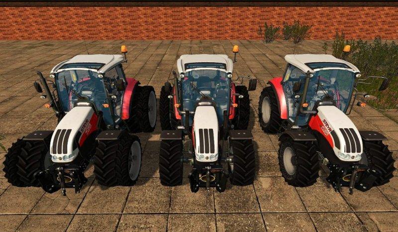 Мод трактор STEYR KOMPAKT 4095 FL V1.1 FS17