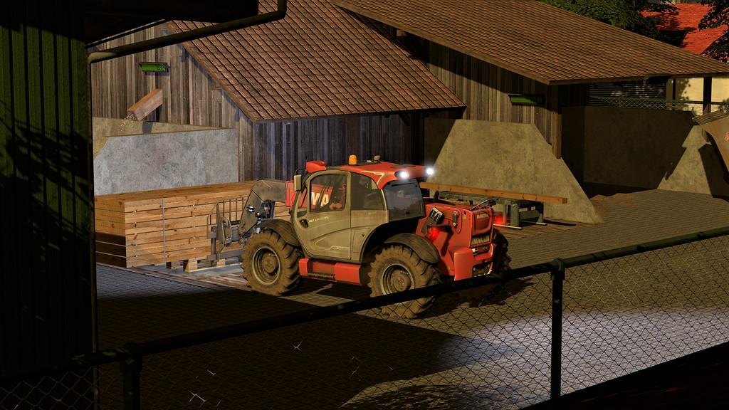 Мод лесопилка Sawmill 1.3.0.0 Farming Simulator 2017