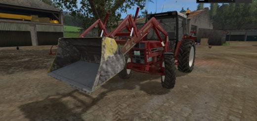 Мод ковш STOLL 1500MM SHOVEL V2.0 Farming Simulator 2017