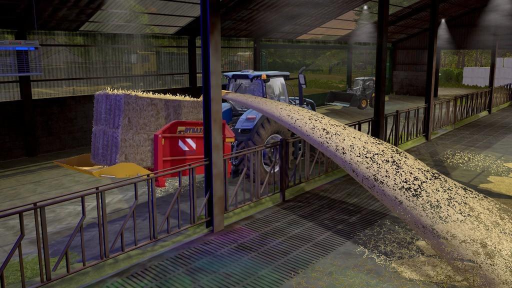 Мод измельчитель соломы GYRAX 2703 V1.0.0.0 Farming Simulator 17