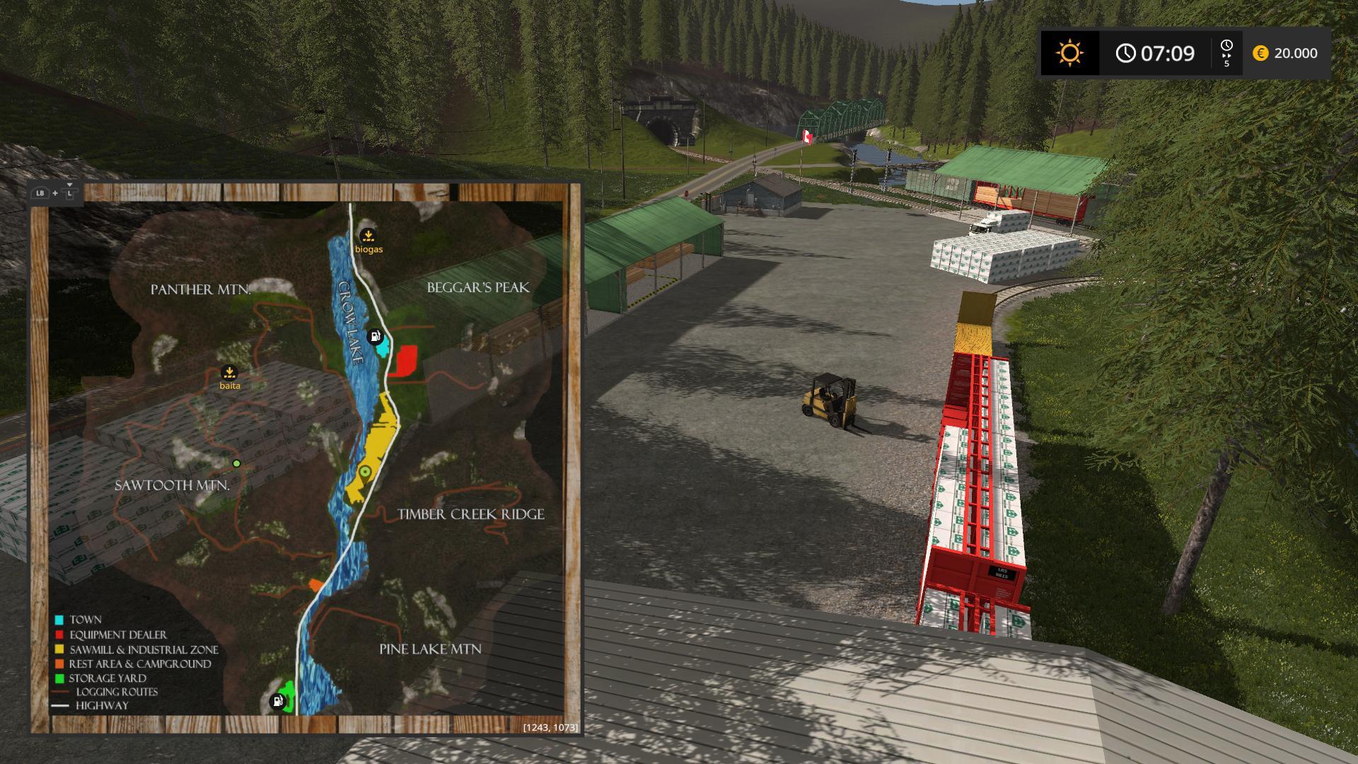 Мод карта THE INTERIOR EDIT TEAM SARDEGNA-SERIOUSMOD V1.0 Farming Simulator 17