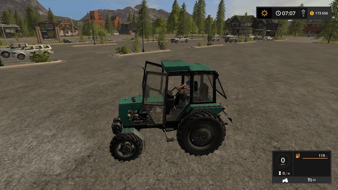Мод трактор ЮМЗ UMZ 8240 V1.0 Фермер Симулятор 2017
