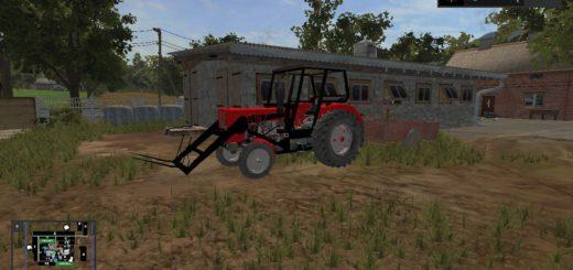 Мод трактор URSUS C360 CZERWONA V1.0.0.0 FS17