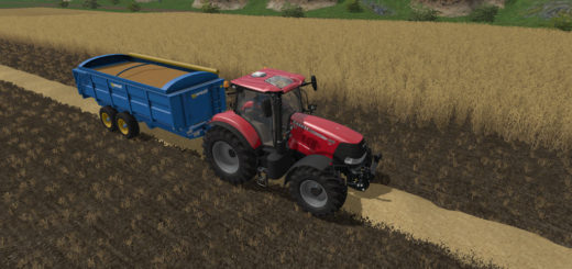 Мод прицеп WEST 12T GRAIN TRAILER V1.0.0.0 Farming Simulator 2017