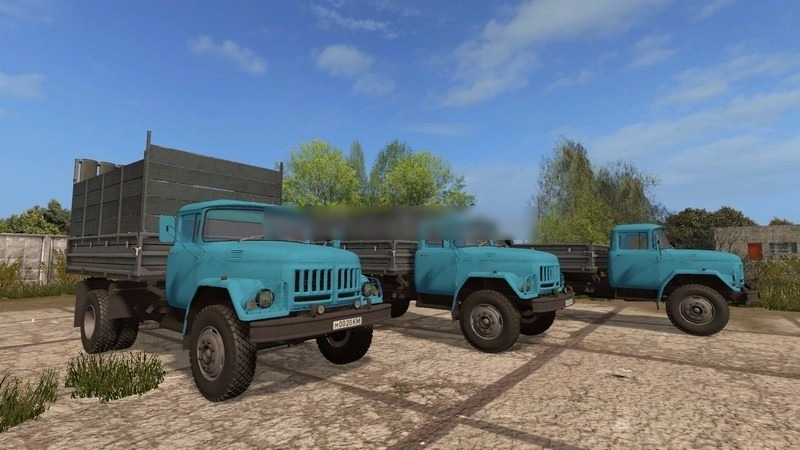 Мод грузовик ZIL ЗИЛ 130 Амур v 1.0 Фермер Симулятор 2017