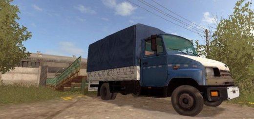 Мод грузовик ZIL 5301 GOBY V1.0.0.1 Farming Simulator 2017