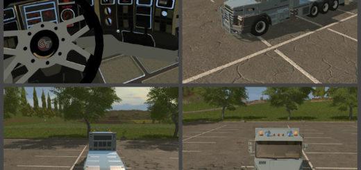 Мод эвакуатор Scania 112E TT FS17