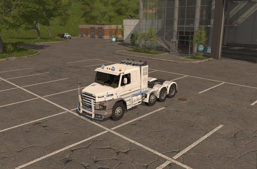 Мод тягач Scania 112E FS17