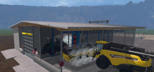 Мод мойка Car Wash v1.1.0.0 Farming Simulator 17
