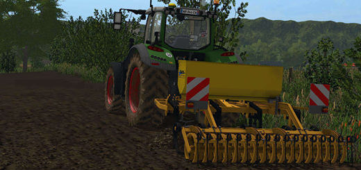 Мод культиватор AGRISEM 3M V1.1 Farming Simulator 17