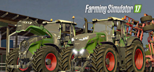 Мод трактор FENDT VARIO 1000 FULL EDITION V2.0 FS17