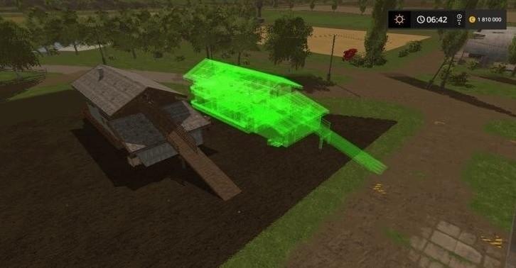 Мод хранилище сена V1.0 Farming Simulator 17