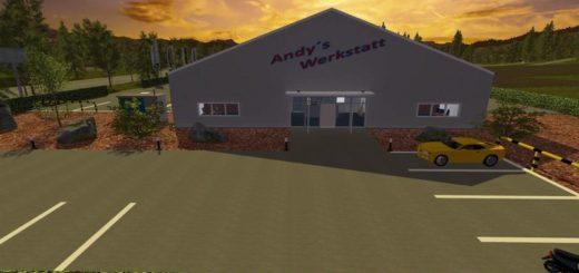 Мод мастерская Andys Workshop v1.3 Farming Simulator 17