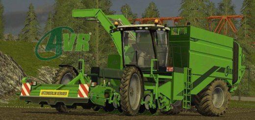 Мод комбайн AVR Puma v2.0 Farming Simulator 2017