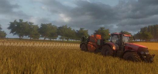 Мод Amazone UX 5200 Pack v1.0 Farming Simulator 17