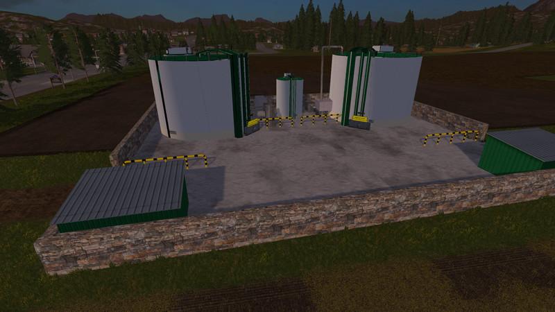 Мод AVAILABLE TO BIO-DIESEL REFINERY V3.0 Farming Simulator 17