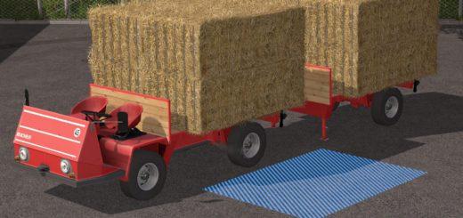 Мод BUCHER TRL2600 PLATFORM PACK V1.0.0.2 для Farming Simulator 2017