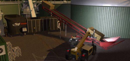 Мод конвейер BALES AND WOOD CONVEYOR BELT V1.0.1.0 Farming Simulator 17