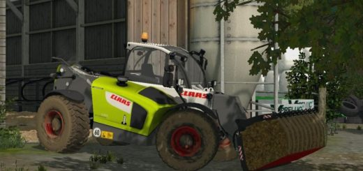 Мод погрузчик CLAAS SCORPION 7055 V1.1 Farming Simulator 2017