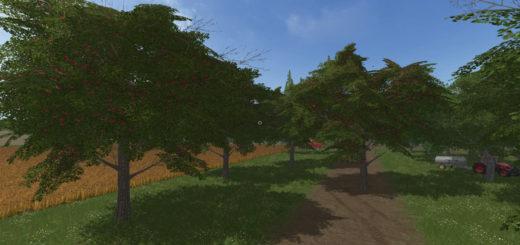 Мод вишневое дерево Cheeries Placeable Tree V1.0 FS17