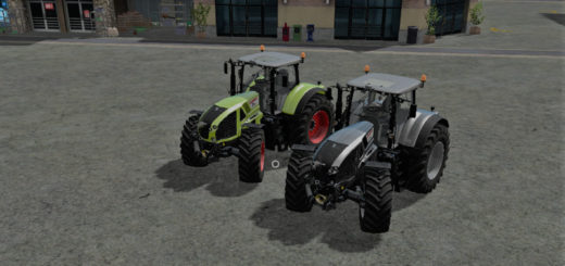 Мод трактор CLAAS AXION 920/30/40/50 V1.0 Farming Simulator 2017