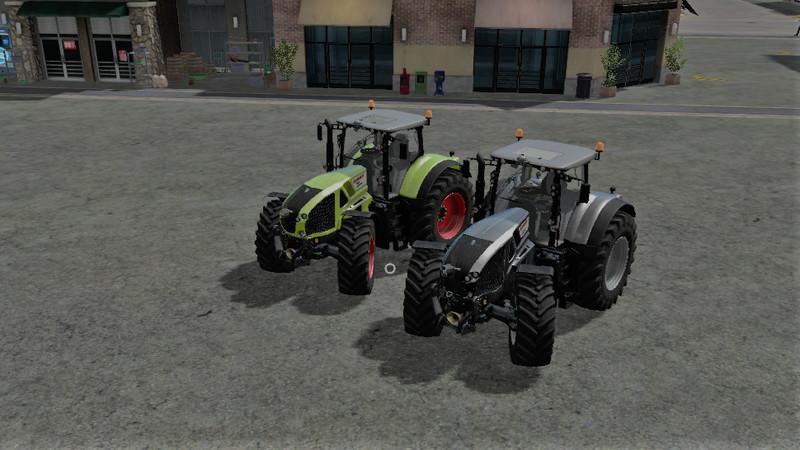 Мод трактор CLAAS AXION 920/30/40/50 V1.0 Farming Simulator 2017