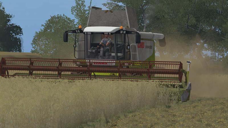 Мод комбайн CLAAS LEXION 580/580TT V 1.1 Farming Simulator 2017
