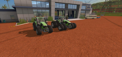 Мод трактор DEUTZ FAHR SERIES 9 POWER V1.0 FS17