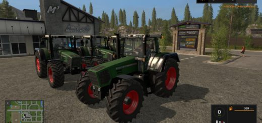 Мод трактор FENDT FAVORIT 800 OFFICIAL FINAL V3.2 Farming Simulator 17