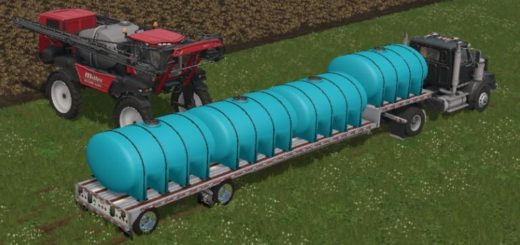 Мод цистерна FERTILIZER TANKER V1.0 Farming Simulator 17