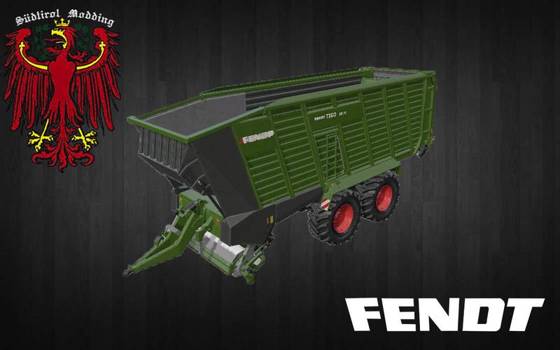 Мод прицеп FENDT / LELY TIGO 75 V1.1 FS17
